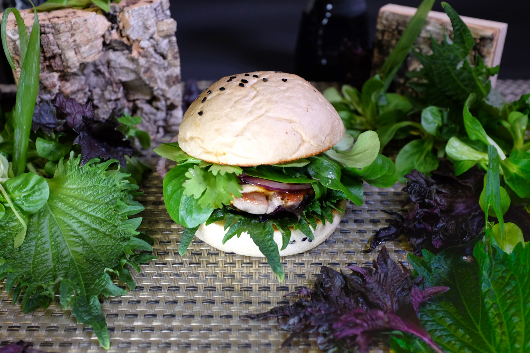 Shiso Burger Tuna